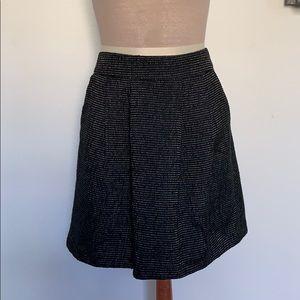 Halogen A Line Tweed Skirt